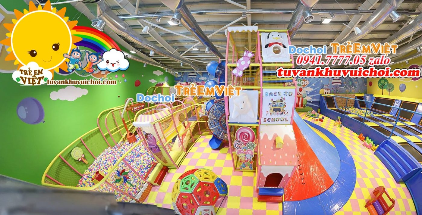 Đầu tư khu vui chơi trẻ em