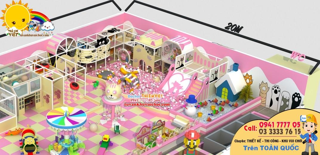 xây dựng khu vui chơi trẻ em