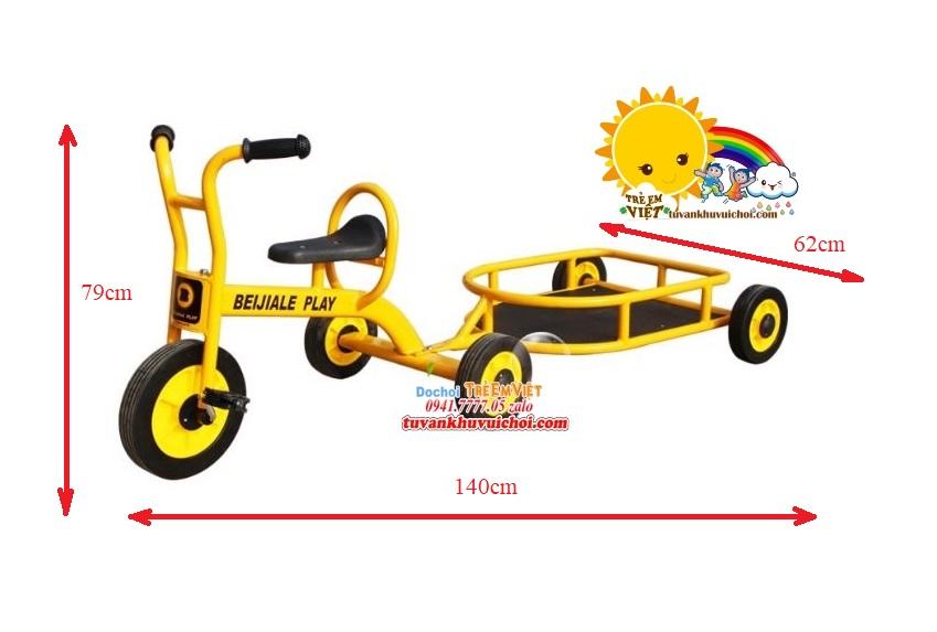 Xe đạp bằng sắt đồ chơi khu vui chơi