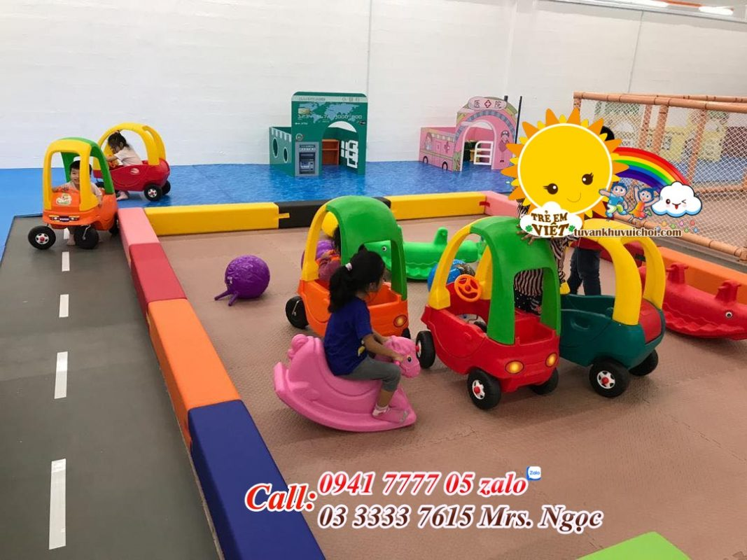 Đầu tư khu vui chơi trẻ em bao nhiêu tiền.