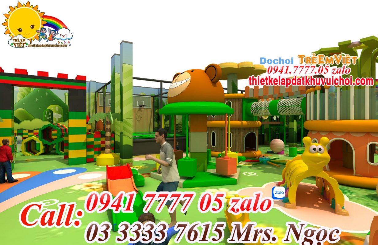 Chủ đề thiết kế khu vui chơi trẻ em