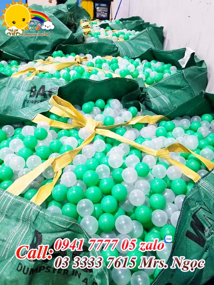 Bóng nhựa nhà banh