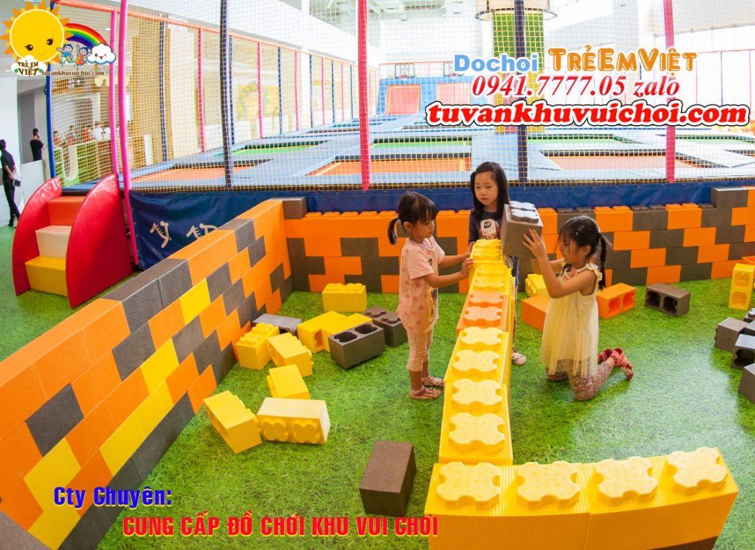Lego xốp khu vui chơi