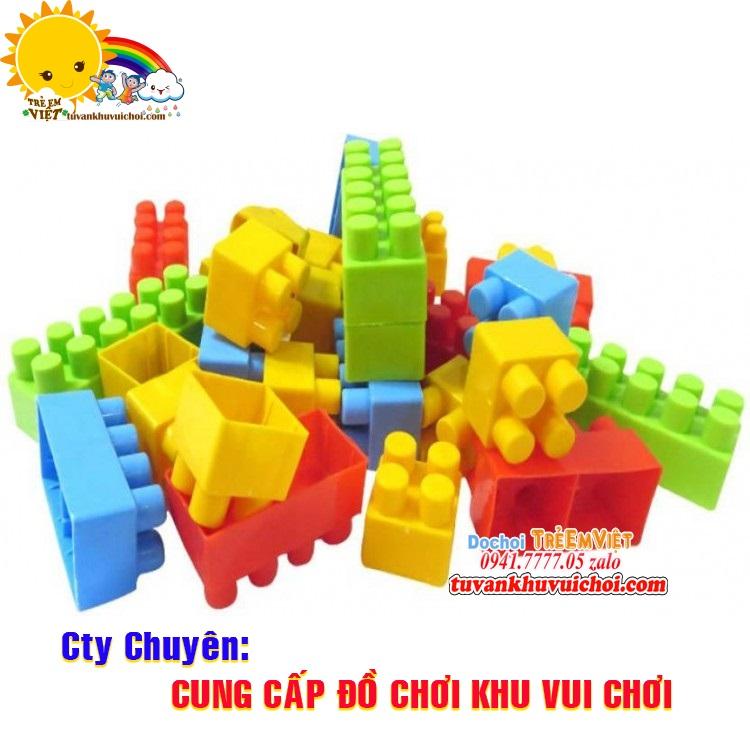 Lego nhựa cho khu vui chơi trẻ em