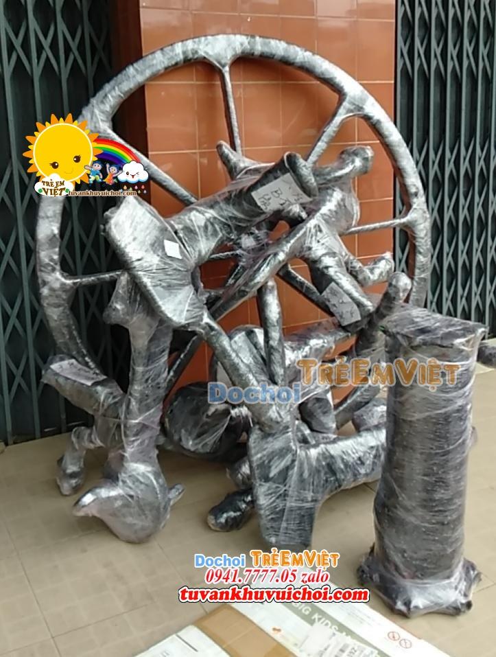 Linh kiện lắp ráp mâm xoay xe đạp được nhập khẩu nguyên đai nguyên kiện.