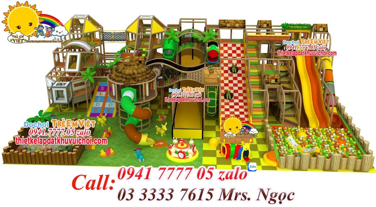 Tiêu chuẩn thiết kế khu vui chơi trẻ em