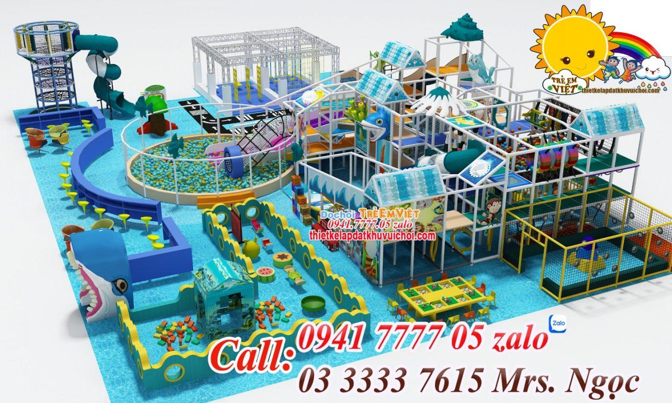 Công ty chuyên thiết kế khu vui chơi liên hoàn cho trẻ em.