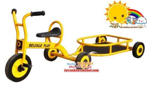 Xe đạp bằng sắt cho khu vui chơi trẻ em.