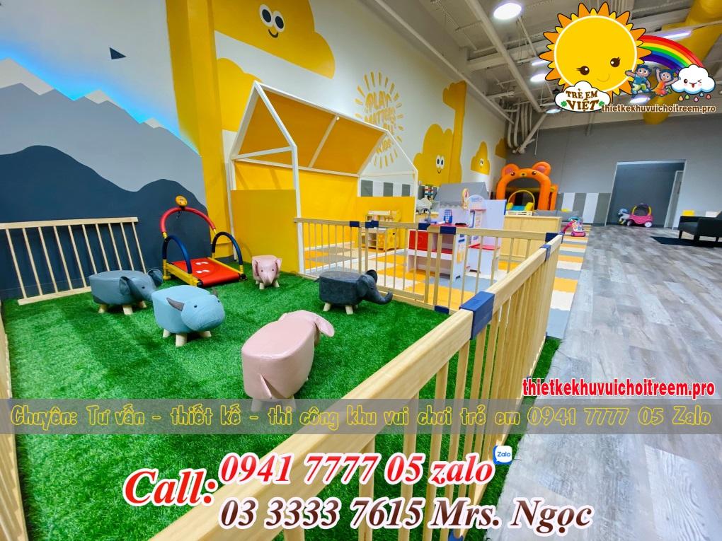 công trình khu vui chơi trẻ em 250m2