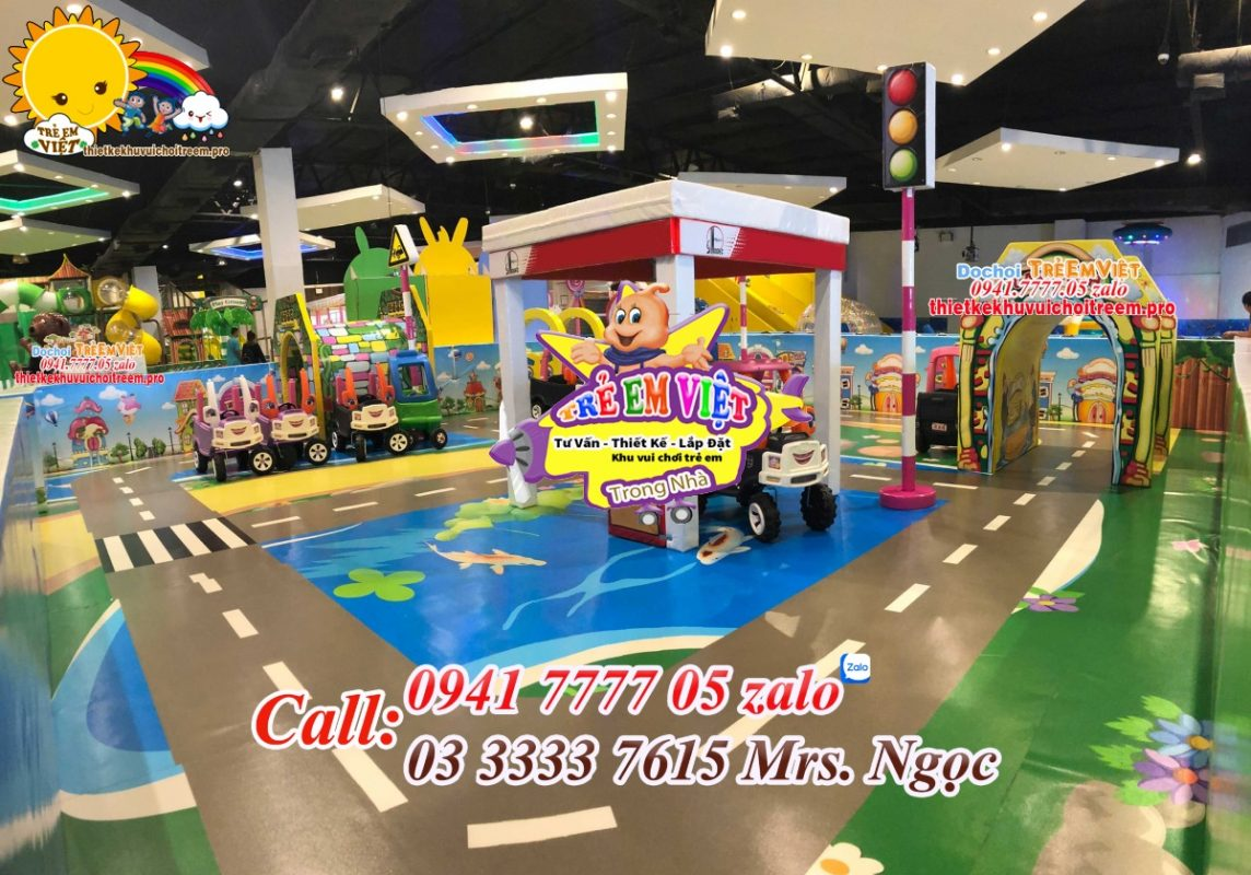Dự án khu vui chơi giải trí cho trẻ em