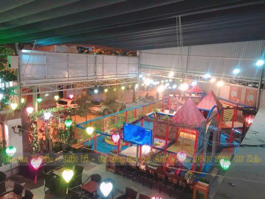 Quán cafe có khu vui chơi trẻ em ở Nha Trang
