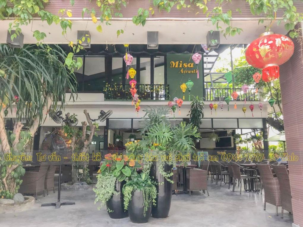 Khu vui chơi trẻ em có quán cafe đẹp ở Tp Nha Trang.