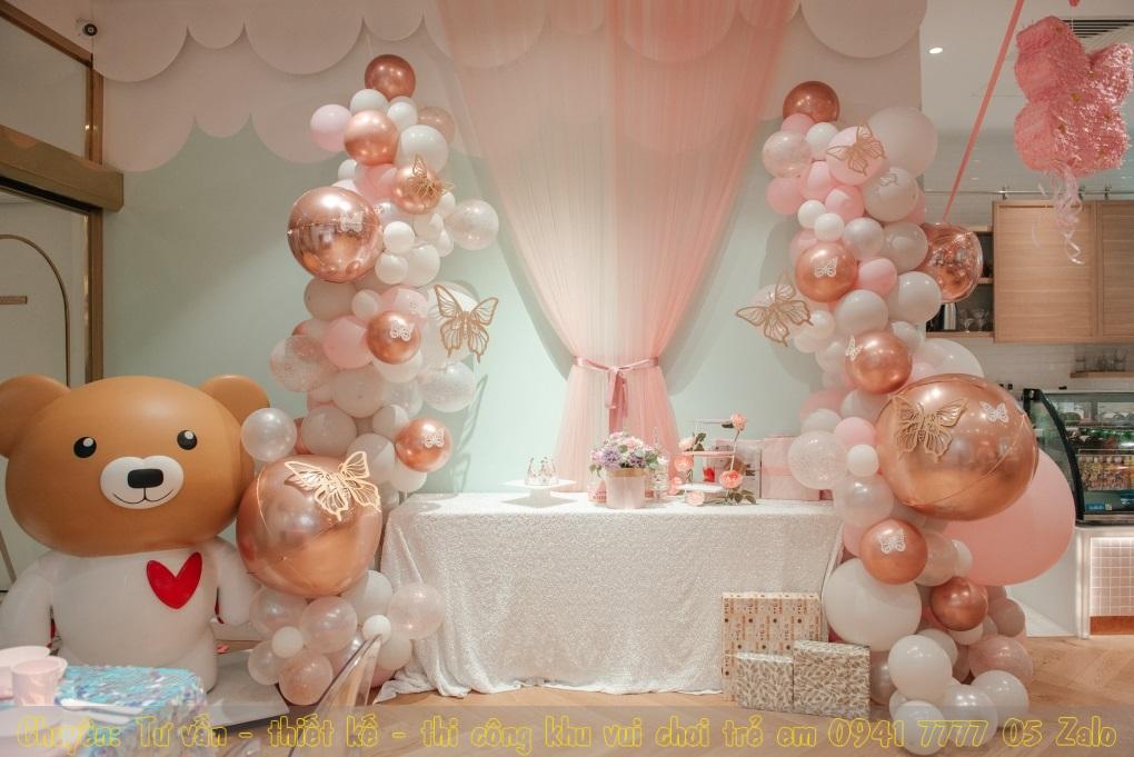 Tổ chức các buổi tiệc sinh nhật hấp dẫn cho bé