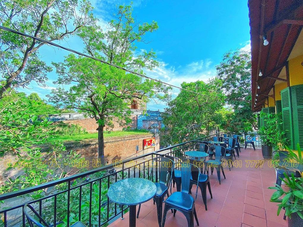 Quán cafe có khu vui chơi trẻ em ở Tp Huế