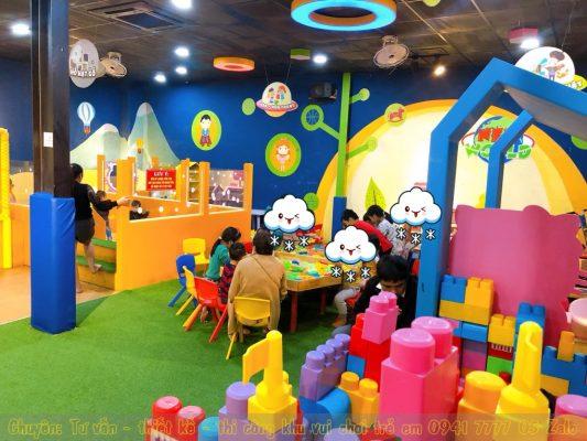 Khu vui chơi trẻ em có quán cà phê ở Huế