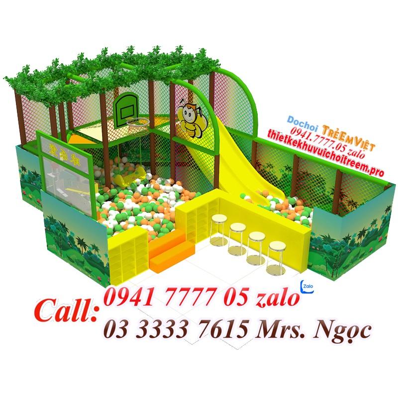 Thiết kế phối cảnh khu vui chơi trẻ em