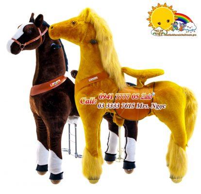 ngựa thánh giống màu nâu