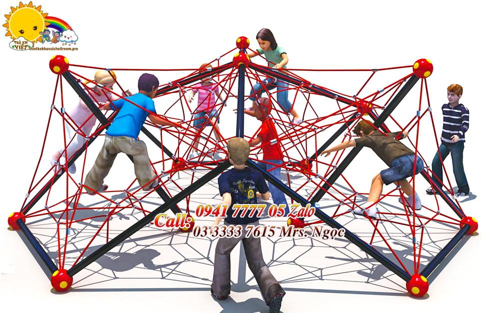 thang leo trèo bằng lưới