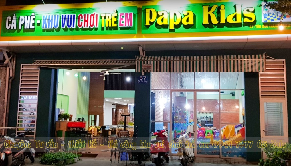 Quán Cafe Có KHU VUI CHƠI TRẺ EM ở Dak Lak