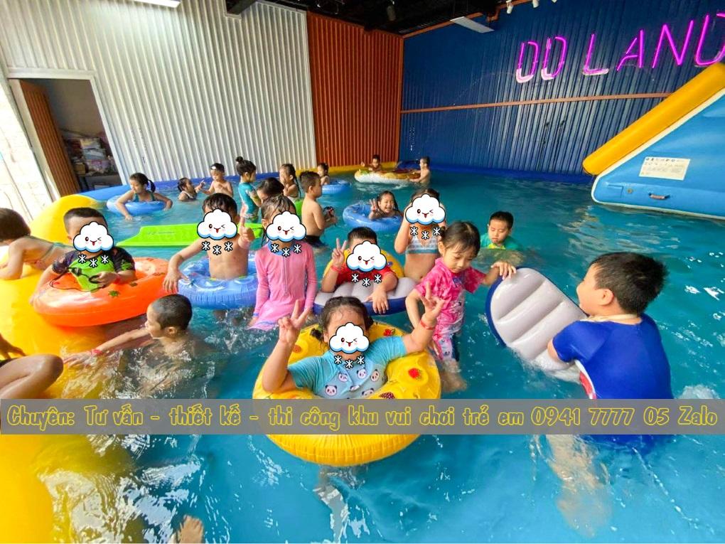 Hồ bơi cho khu vui chơi trẻ em ở Đà Nẵng