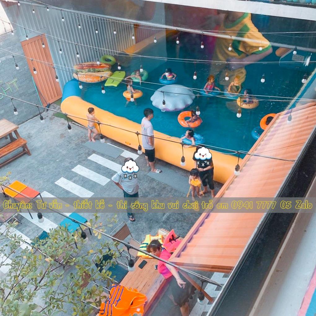Quán cafe có khu vui chơi trẻ em ở Đà Nẵng