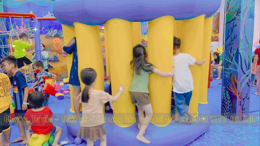 khu vui chơi trẻ em Baby Shark Zone
