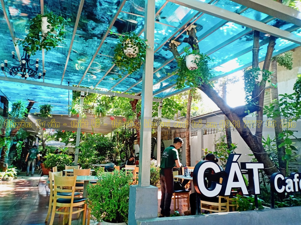QUÁN cafe Có Khu Vui Chơi Trẻ Em ở Buôn Ma Thuột