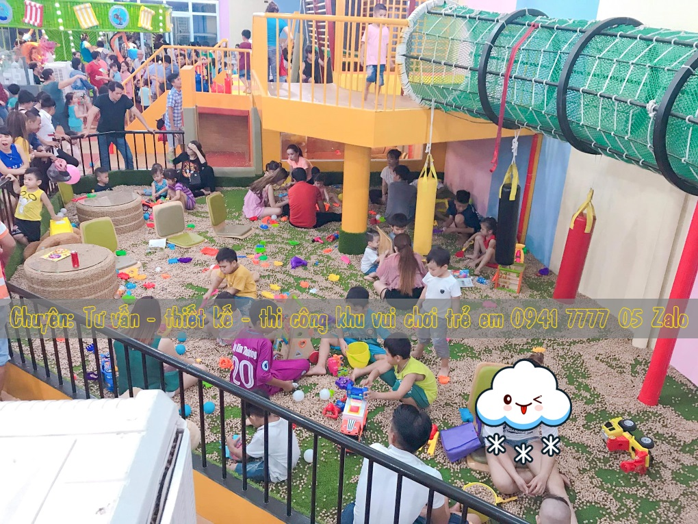 Quán cafe có khu vui chơi trẻ em ở Đồng Nai