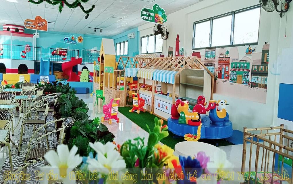 Khu vui chơi trẻ em trong nhà ở Bình Dương