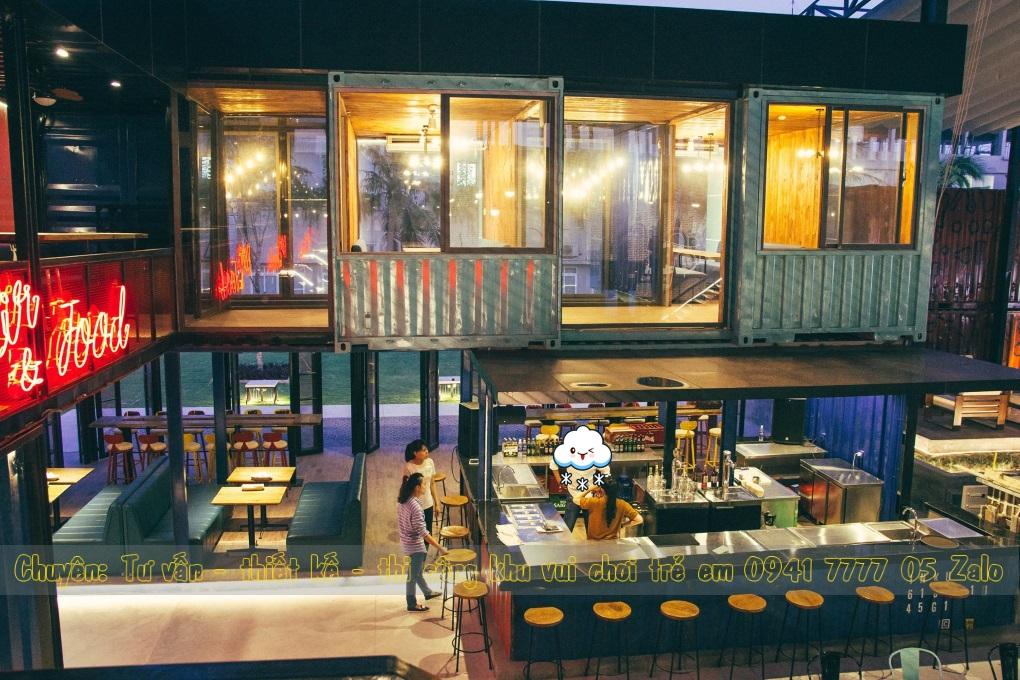 Nhà hàng có khu vui chơi trẻ em ở Đà Nẵng