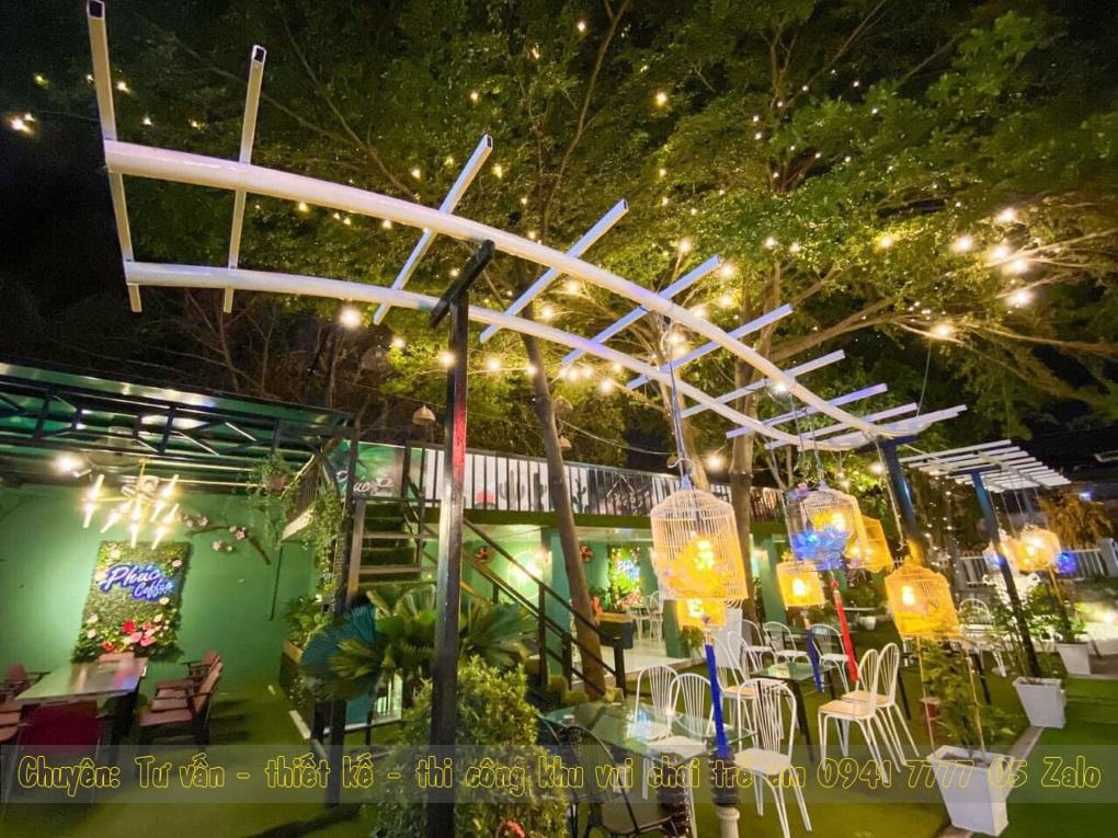 Quán cafe có khu vui chơi trẻ em ở Thủ Dầu Một