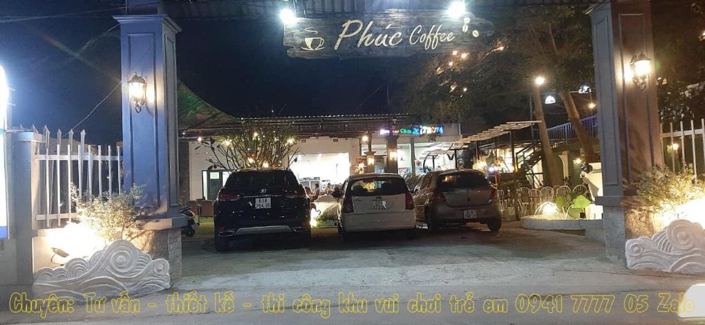 Quán cafe có khu vui chơi trẻ em ở Tp Thủ Dầu Một - Bình Dương