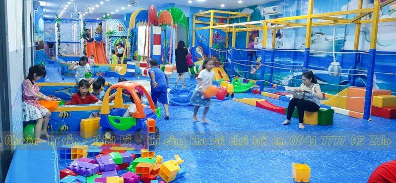 Khu vui chơi trẻ em trong quán cafe ở Tp Thủ Dầu Một