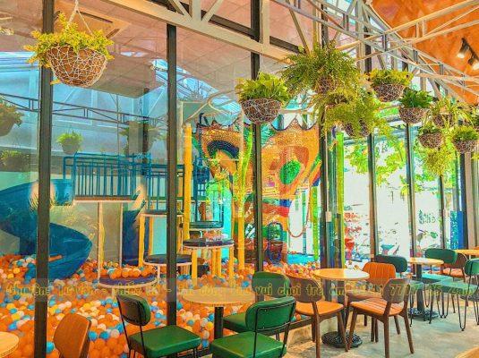 Quán cà phê có khu vui chơi trẻ em ở Đà Nẵng