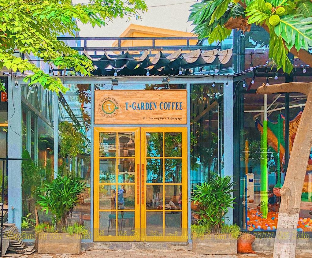 Cà phê có khu vui chơi trẻ em ở Đà Nẵng