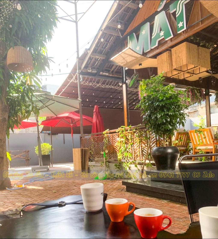 Quán cà phê có khu vui chơi cho bé ở Đà Nẵng