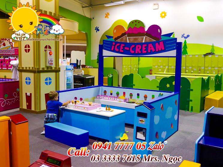 khu hướng nghiệp bán kem