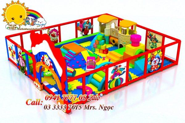 khu vui chơi mini 1 đến 5 tuổi