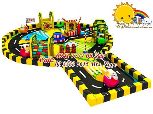 thiết bị vui chơi an toàn giao thông
