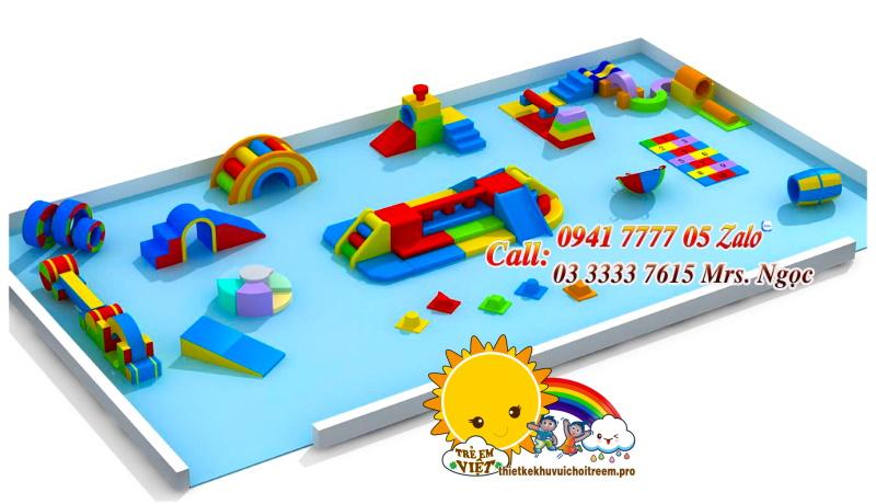 thiết bị vui chơi trẻ nhỏ 2 đến 5 tuổi
